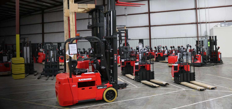 Forklift Rentals from Carolina Handling