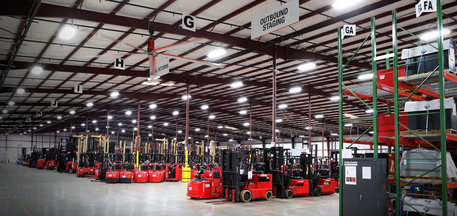 Industrial Lighting Fixtures | Carolina Handling | Warehouse Products