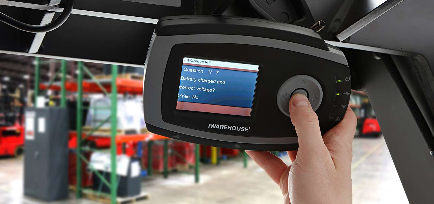 iWAREHOUSE Forklift Telematics System by Raymond