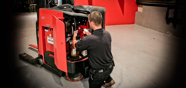 Lift Truck Service | Forklift Management | Carolina Handling