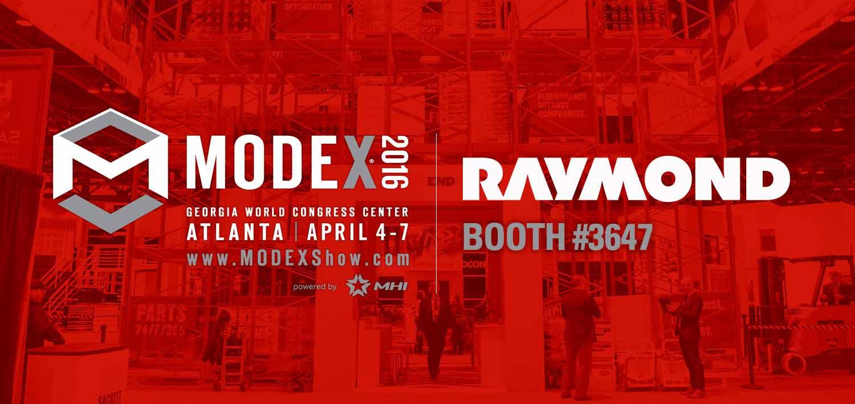 Modex Atlanta 2016 | Material Handling Expo | Raymond Forklifts