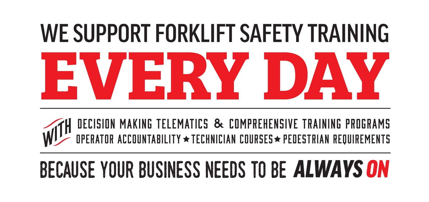 National Forklift Safety Day Training from Carolina Handling