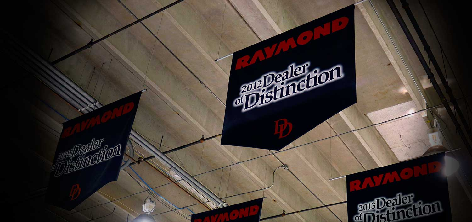 Raymond Dealer of Distinction | Carolina Handling | Lift Trucks