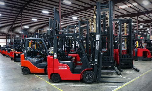 Used Forklifts | Raymond RENEWED | Carolina Handling