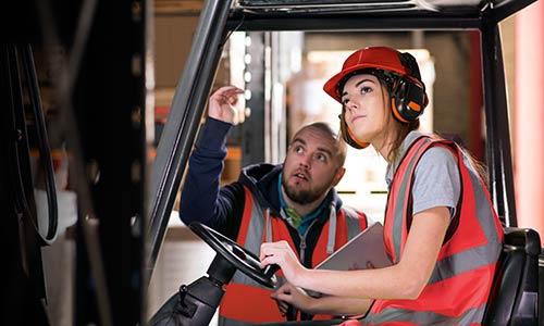 Training Warehouse Management Carolina Handling - Forklift mechanic
