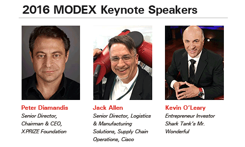 Modex Atlanta | 2016 Expo | Keynote Speakers