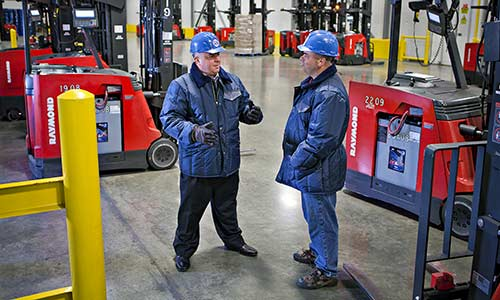 Lift Truck Service and Warehouse Solutions | Carolina Handling