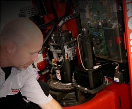 Forklift Motor Remanufacturing | Carolina Handling