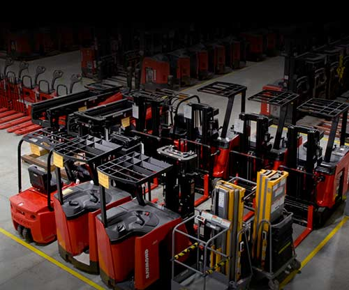 Carolina Handling | Forklift Rental | Raymond