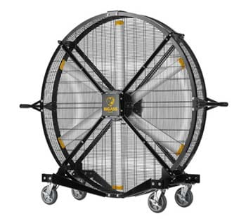 Black Jack Industrial Mobile Fan | Warehouse Products