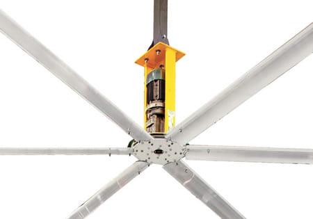 Basic 6 Industrial Ceiling Fan | Warehouse Products