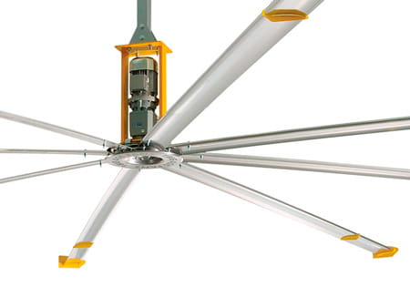 Powerfoil 8 Industrial Ceiling Fan | Warehouse Products