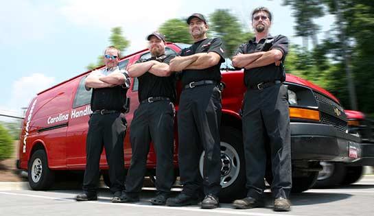 Fork Lift Truck Service | Carolina Handling | Equipment Maintenance