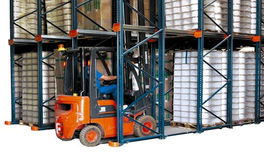 Drive-In Pallet Racking offered by Carolina Handling