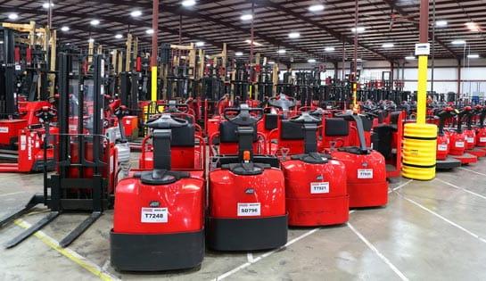 Forklift Companies Charlotte NC | Carolina Handling | Raymond