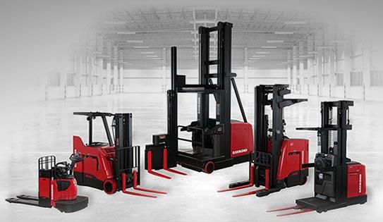 Raymond Forklifts | Reach Trucks | Carolina Handling