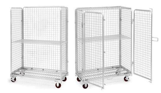 Industrial Rolling Carts by WorldCart