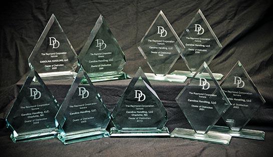 Material Handling Company | Awards | Raymond Fork Lift Trucks