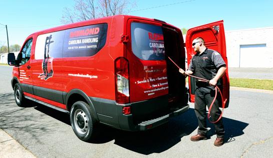 Carolina Handling   Atlanta Forklift Service