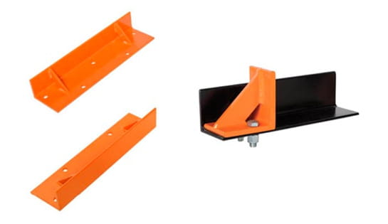 Pallet and Rail Stoppers offered by Carolina Handling