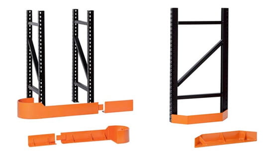 Racking End Guard and Guide Rails from Carolina Handling