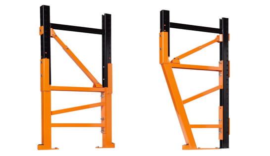 Pallet Rack Repair offered by Carolina Handling