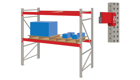Roll Formed Industrial Racking for Warehouses from Carolina Handling