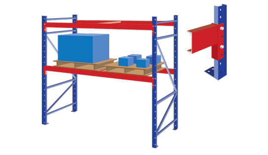 Structural Racking for Warehousing from Carolina Handling
