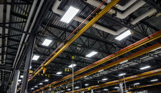 Warehouse Facility Lighting from Carolina Handling