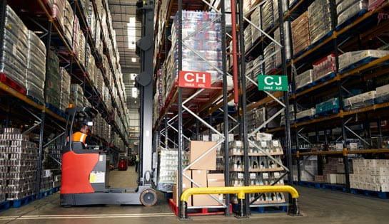 Warehouse Racking from Carolina Handling