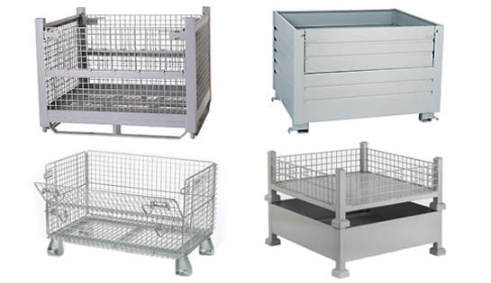 Wire Containers from Nashville Wire Products, offered by Carolina Handling