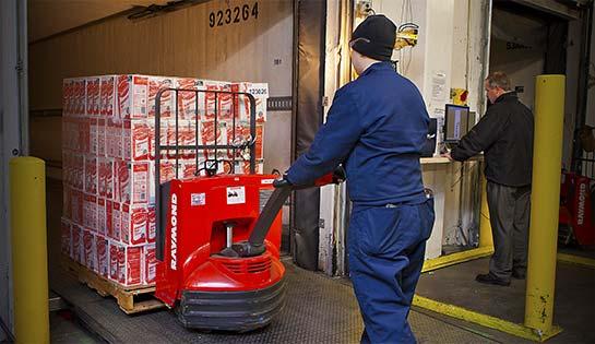 Warehouse Dock Doors   Carolina Handling