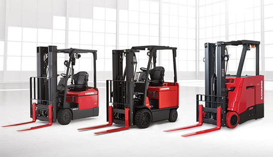 Electric Forklifts | Raymond Lift Trucks | Carolina Handling