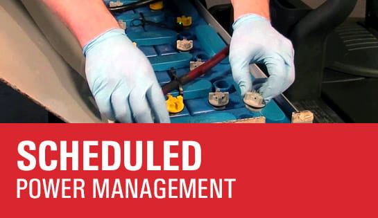Scheduled Motive Power Management Program
