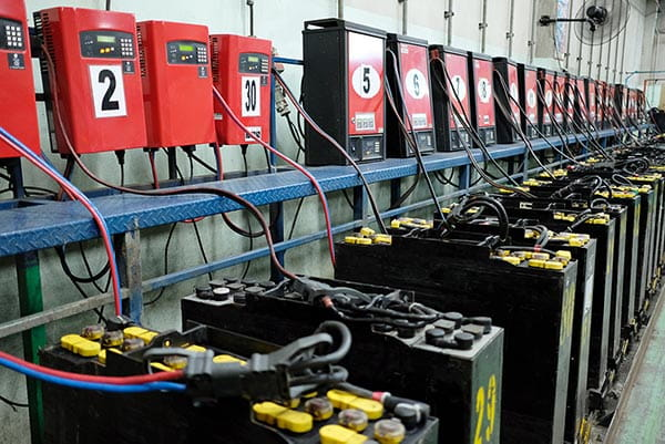 Forklift Battery Conventional Charging