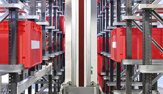 Automated Storage Retrieval System | ASRS | Carolina Handling