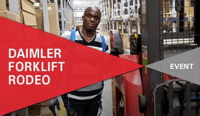 Forklift Safety Rodeo | Carolina Handling | Daimler