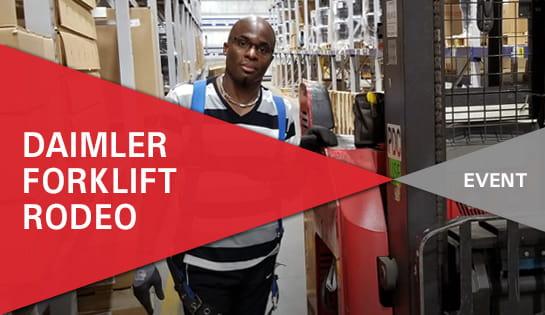 Forklift Safety Rodeo | Carolina Handling | Daimler