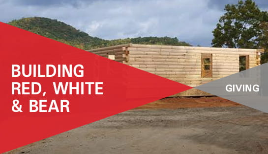Operation Appreciation   Carolina Handling   Red White & Bear Cabin