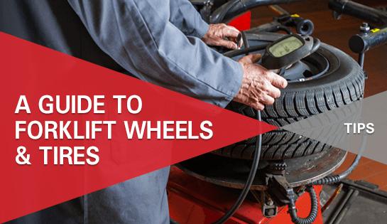 Forklift Wheels & Tires offered by Carolina Handling