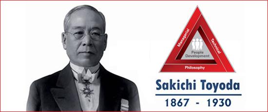 TPS founder Sakichi Toyoda