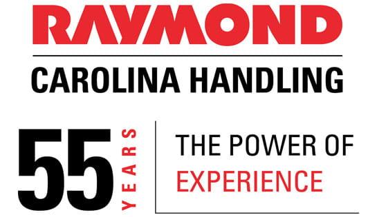 Carolina Handling 55 Years Logo