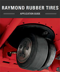 Forklift Rubber Tires by Raymond