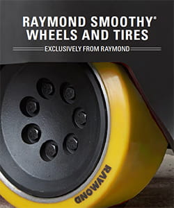 Smoothy Forklift Tires by Raymond