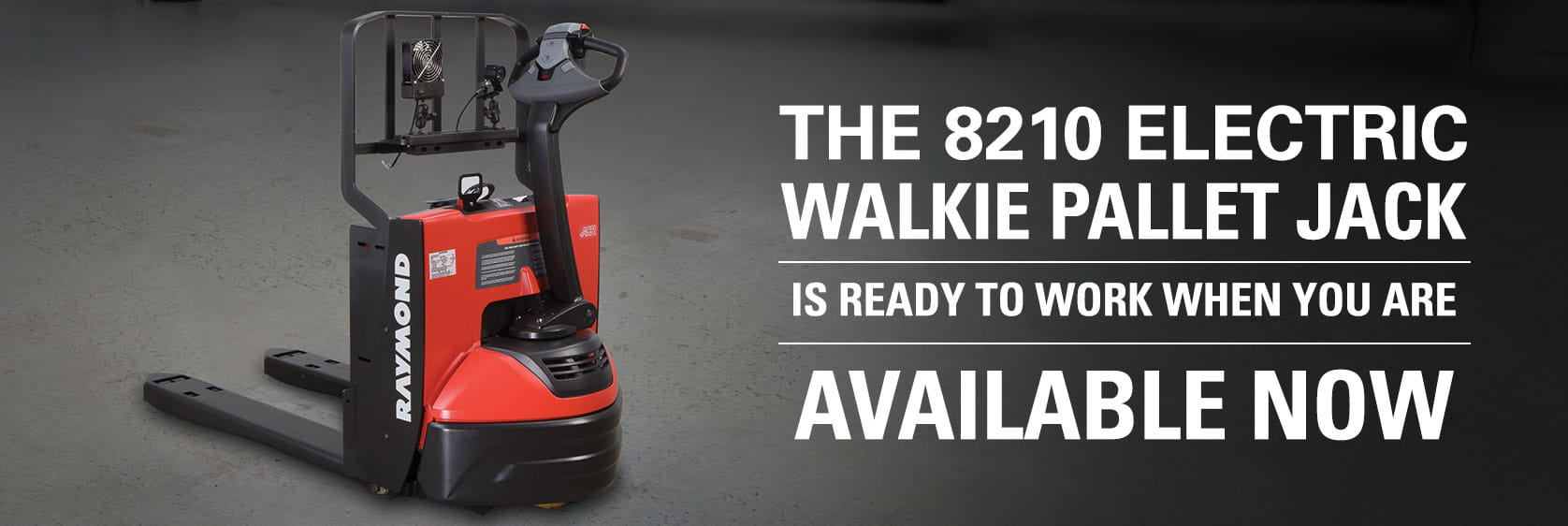 8210 electric walkie pallet jack