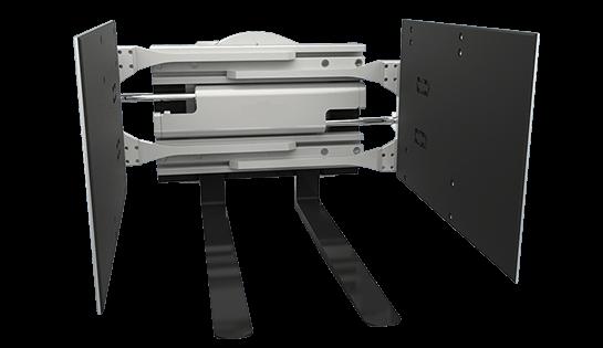 Forklift Clamp | Bulk Box Handler | Fork Attachments