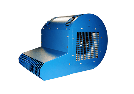 dock door fan | warehouse fans | material handling products