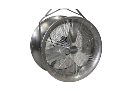 stainless steel fan | warehouse fans | material handling products