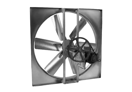 wall exhaust fan L2 | warehouse fans | material handling products