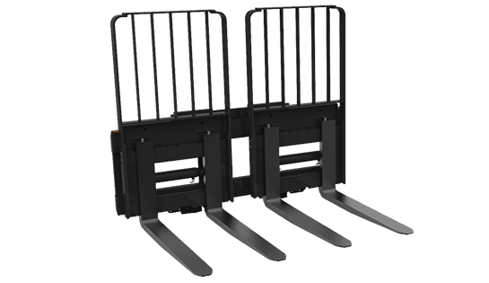 Double Sideshifter | Forklift Attachments | Lift Truck Forks